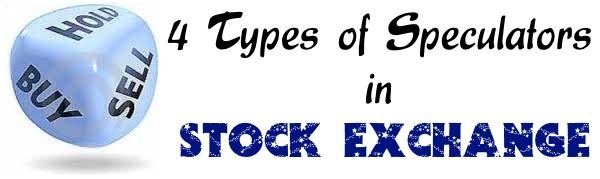 Speculators in Stock Exchanges