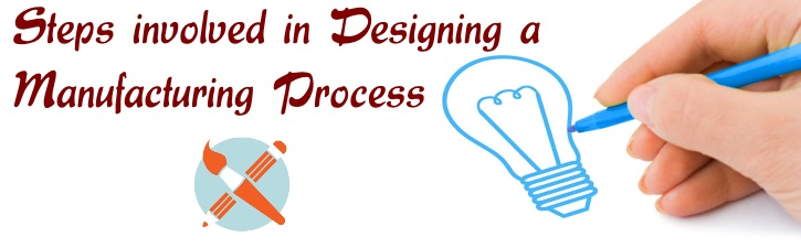 Steps involved in designing a manufacturing process