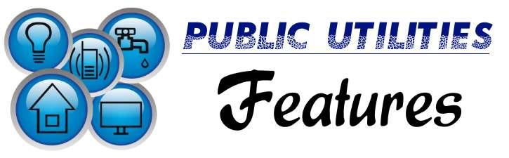 Public Utilities - Features