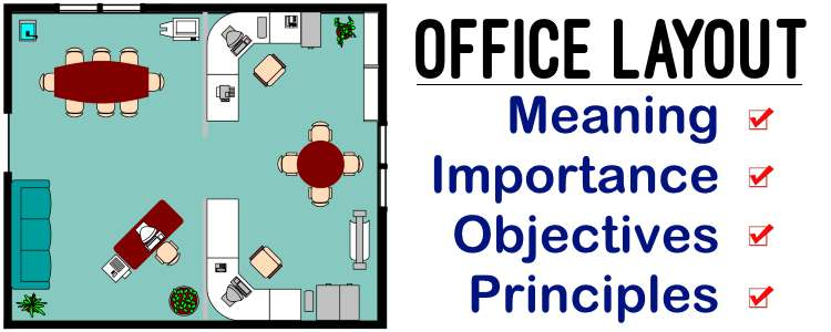 Office Layout - Meaning, Importance, Objectives, Principles
