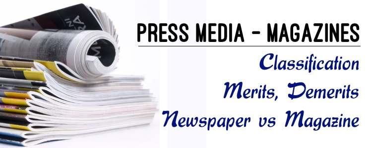 Press Media - Magazines