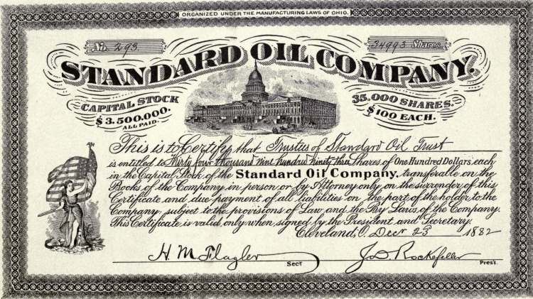 Standard Oil Company - First Trust in the World