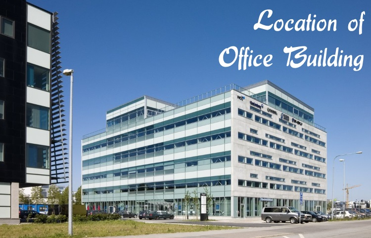 Location of Office building