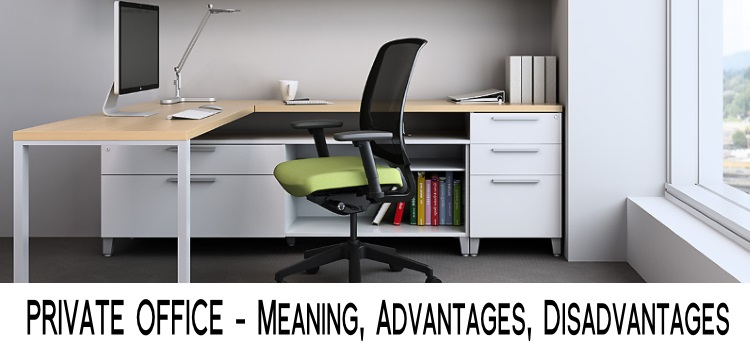 Private Office - Meaning, advantages, disadvantages