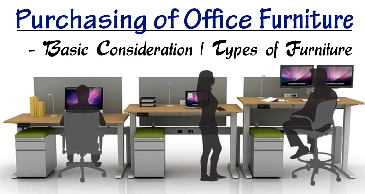 Purchasing of Office furniture